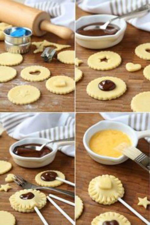 Ciasteczka lizaczki