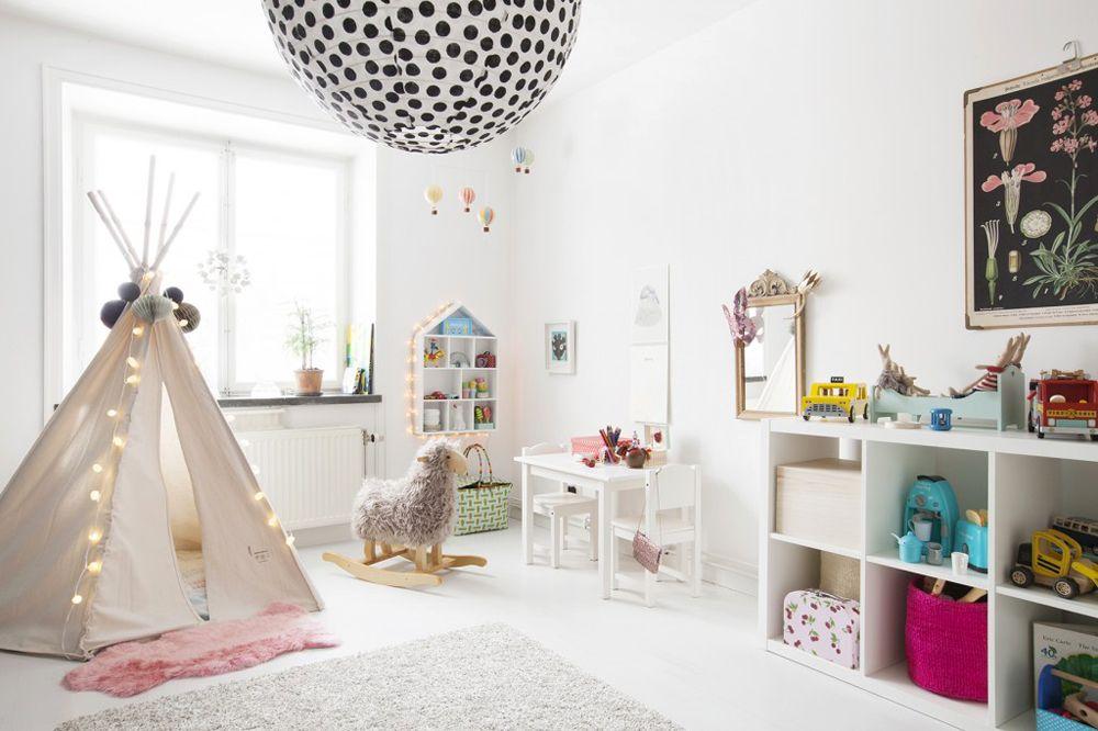 Duży pokój dziecinny