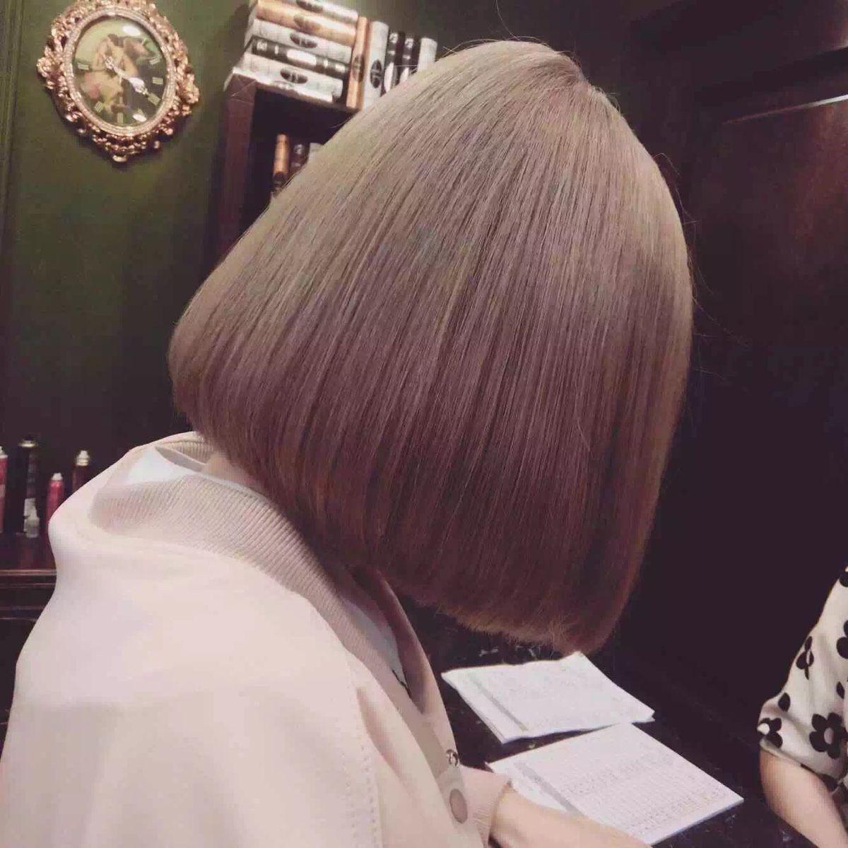 Fryzura damska proste włosy