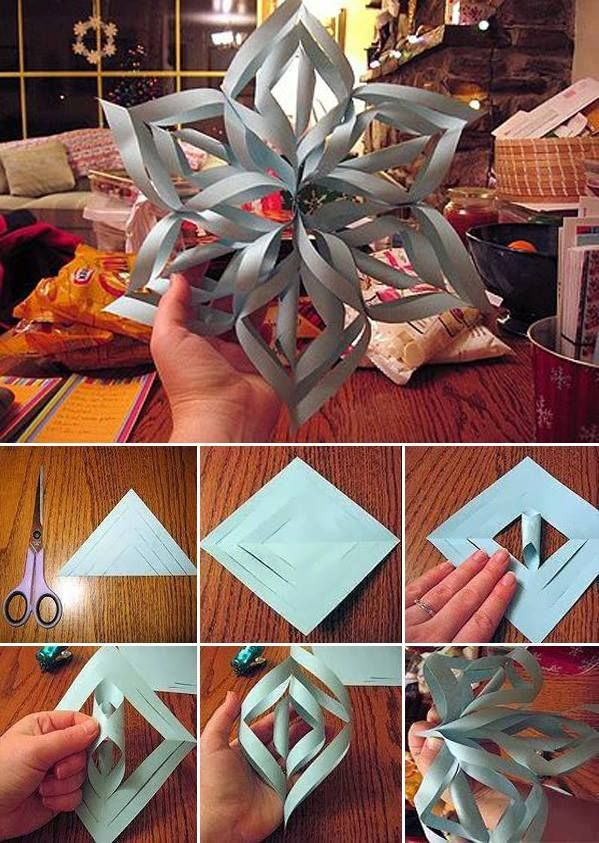 Gwiazda papierowa diy