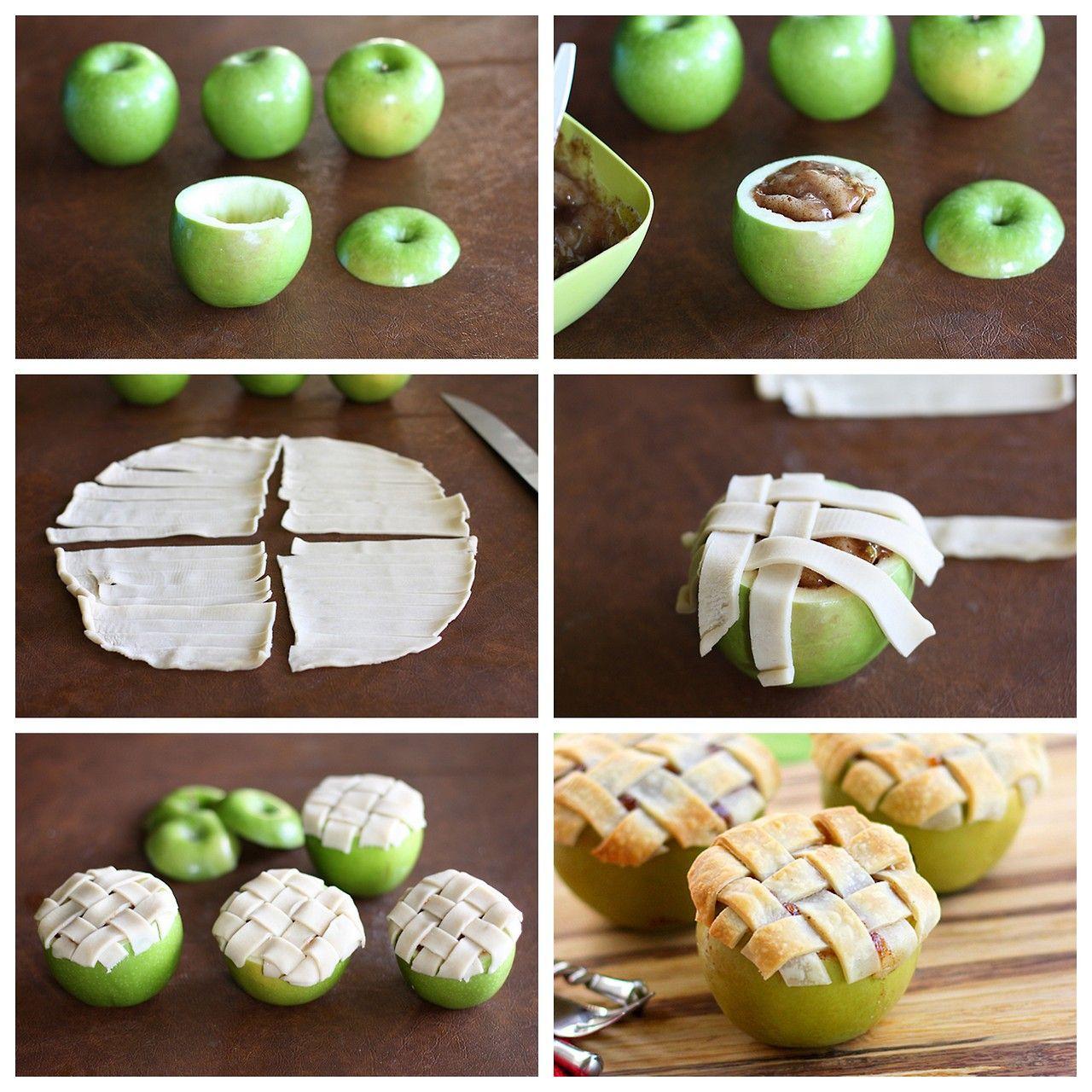 Jabłkowe tartaletki