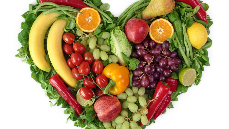 Pyszne serduszko z warzyw