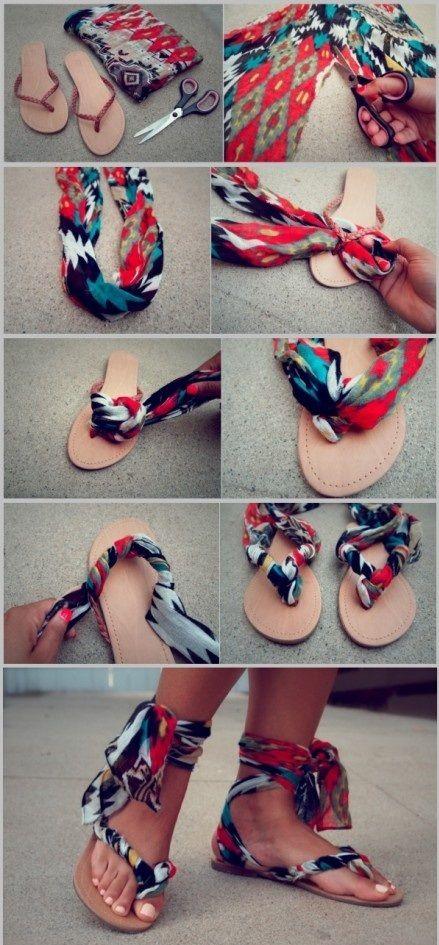Sandałki handmade gladiatorki
