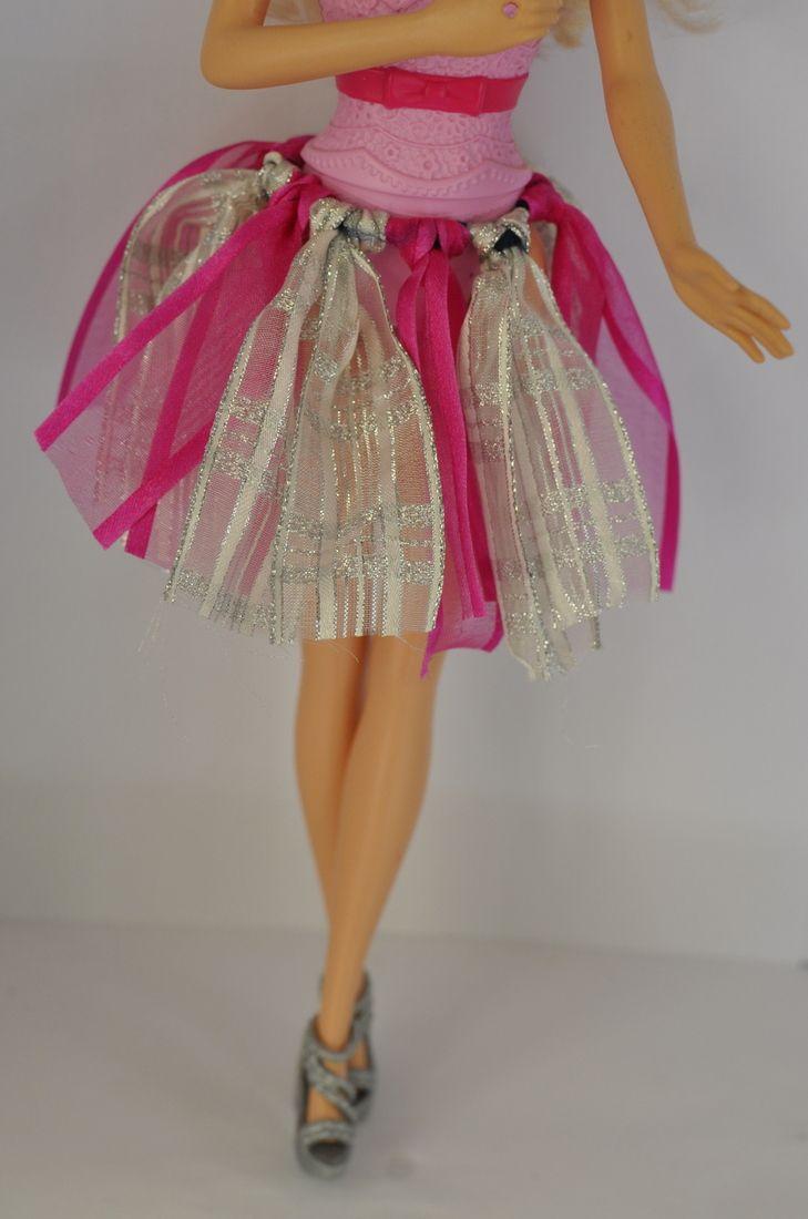 Spódniczka kolorowa diy