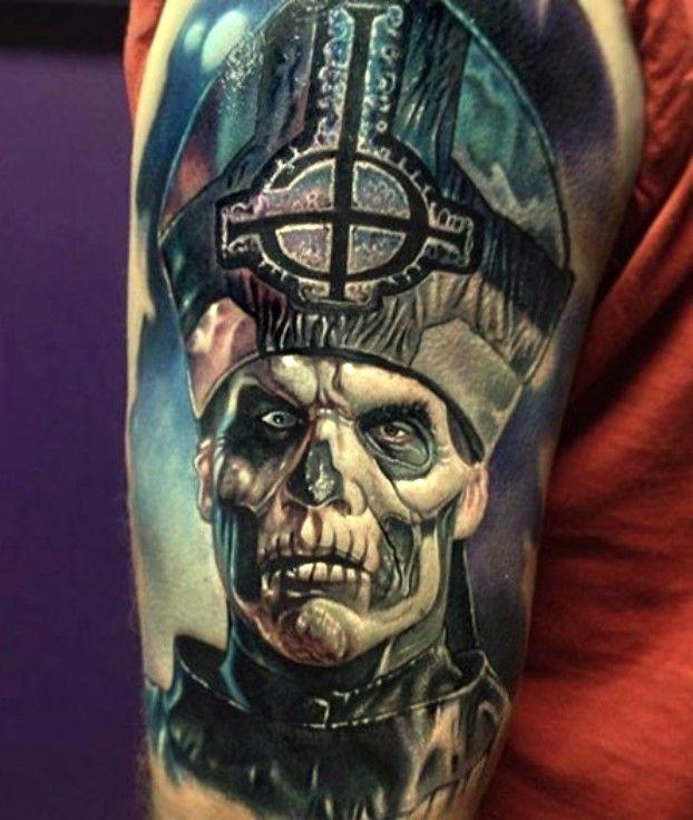 Tatuaż Postać Czaszki