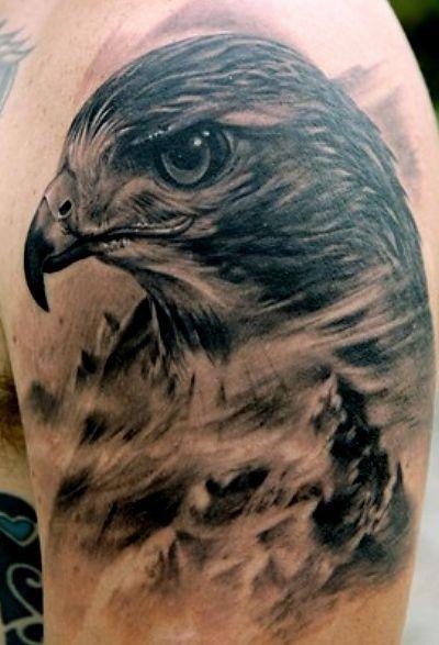 Tatuaż Ptak Głowa Zwierzęta